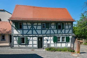 Ausfachung Fachwerk Immobiliengutachter Sachverständige Melanie C. Weinz