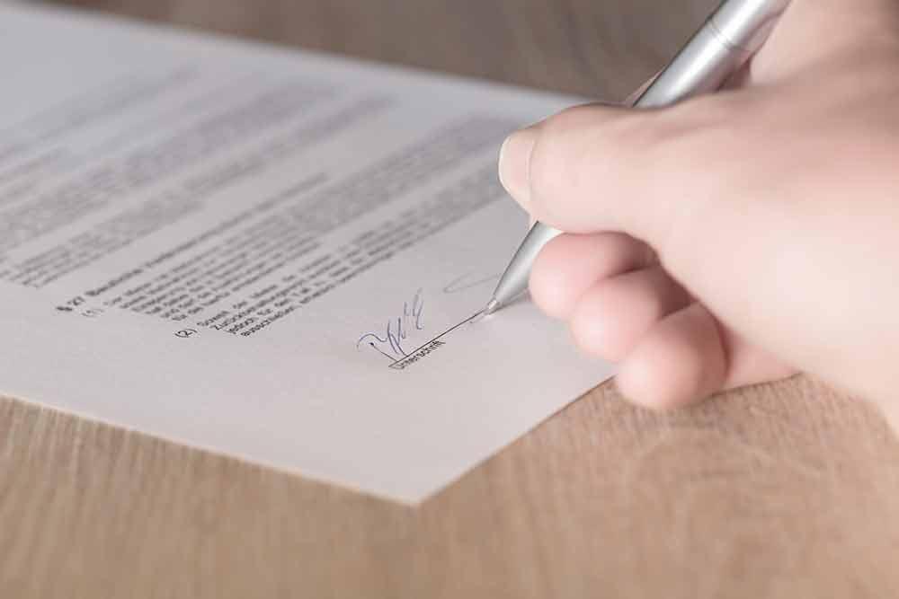 Kaufvertrag beim Immobiliengeschäft – immer über den Notar